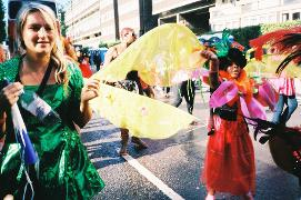 COSPLAY at Notting Hill Carnival with gba-carnival.com